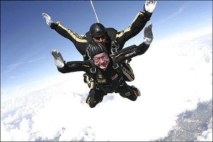 If he can skydive so can you!