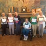 2018 Active Aging Award Recipients