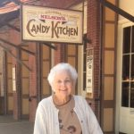 Dottie enjoys the Candy Kitchen.